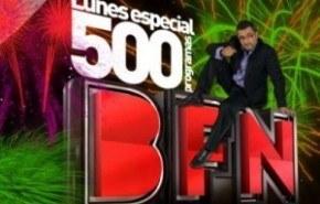 """Buenafuente se """"enfrenta"""" el lunes a su programa 500"""