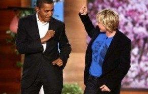 Barack Obama y su mujer bailan en el programa de Ellen Degeneres