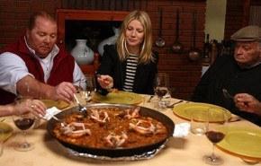"Gwyneth Paltrow recorre España con la serie ""Spain…on the road again"""