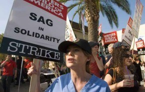 La huelga de actores planea ahora sobre Hollywood