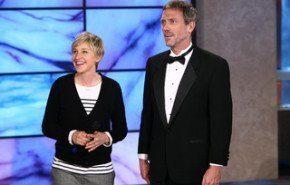 """Hugh Laurie se """"moja"""" por una buena causa"""