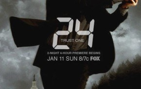 "Posters promocionales de la séptima temporada de ""24"""