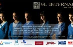 """""""El Internado"""" preestrena su quinta temporada en el cine"""