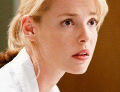 Anatomía de Grey pierde ahora a Katherine Heigl