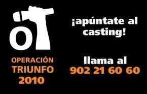 Comienzan los castings Operación Triunfo 2010