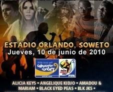 Ver Ceremonia inagural mundial sudafrica 2010