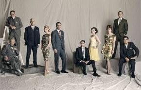 Foto reparto cuarta temporada Mad Men