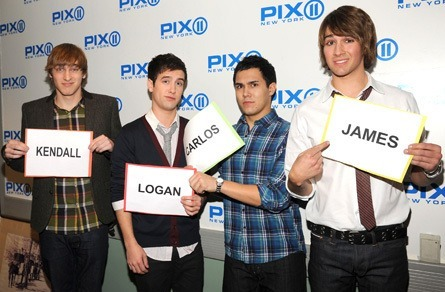 Big Time Rush, Fantasia Barrino and Denise Austin on the PIX Morning Show