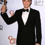 Actor Jim Parsons poses in the press room at the 68th Annual Gol
