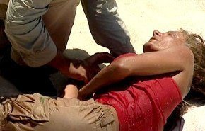 Supervivientes 2011 | Sonia Monroy a punto de ahogarse