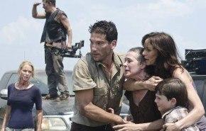La segunda temporada de The Walking Dead se divide en dos partes
