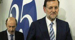 Debate electoral Mariano Rajoy-Alfredo Pérez Rubalcaba