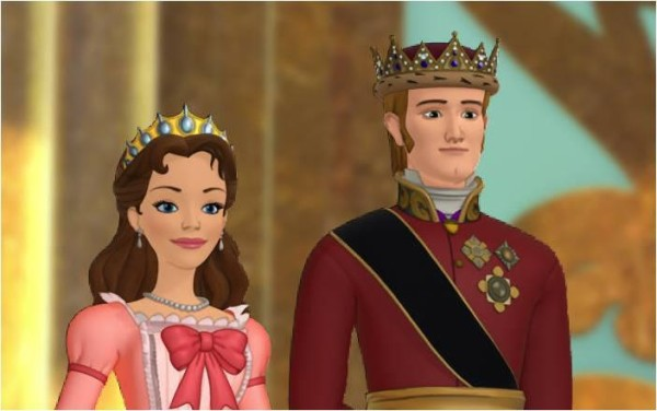 personajes-la-princesa-sofia-miranda-y-rey-roland