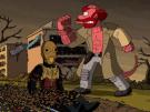 Los Simpson y su cabecera para Halloween hecha por Guillermo del Toro