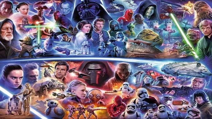 Toda la saga de Star Wars en orden cronológico