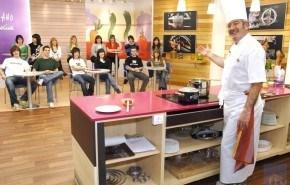 Karlos Arguiñano incorpora público en su cocina