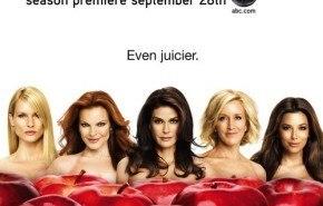 """Poster de la quinta temporada de """"Mujeres Desesperadas"""""""