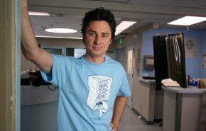 """Zach Braff dejará """"Scrubs"""" cuando acabe su octava temporada"""