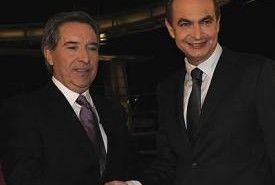 La entrevista a Zapatero en Cuatro superó a la de Rajoy en un millón de espectadores