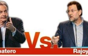 Telecinco entrevista a Zapatero y a Rajoy